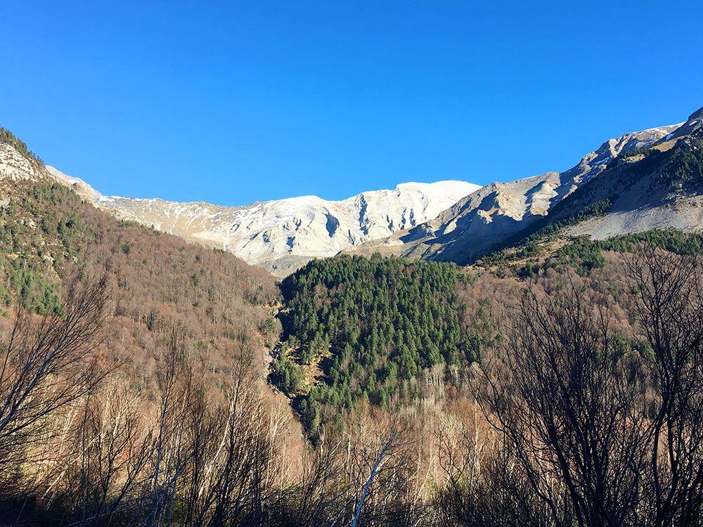 Subida a Los Llanos de La Larri - Senderismo La Pineta - Paisajes