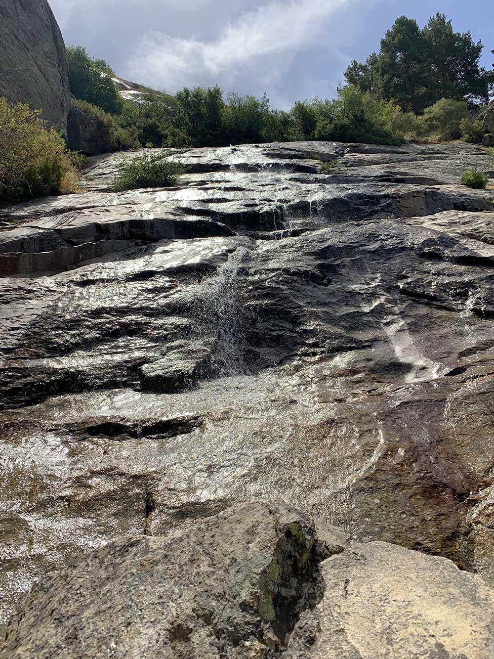 Subida a la Cascada del Chorro Grande de La Granja - Envergadura