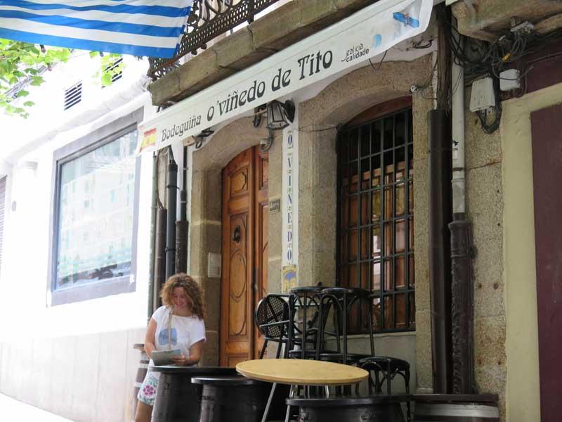 Taberna de vinos A Coruña