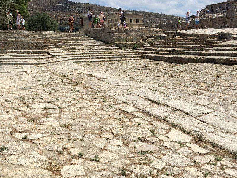 Teatro del Palacio de Knossos