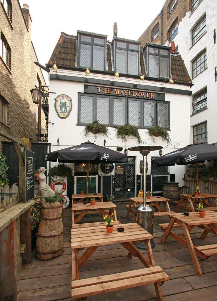 Pubs históricos de Londres - The Mayflower