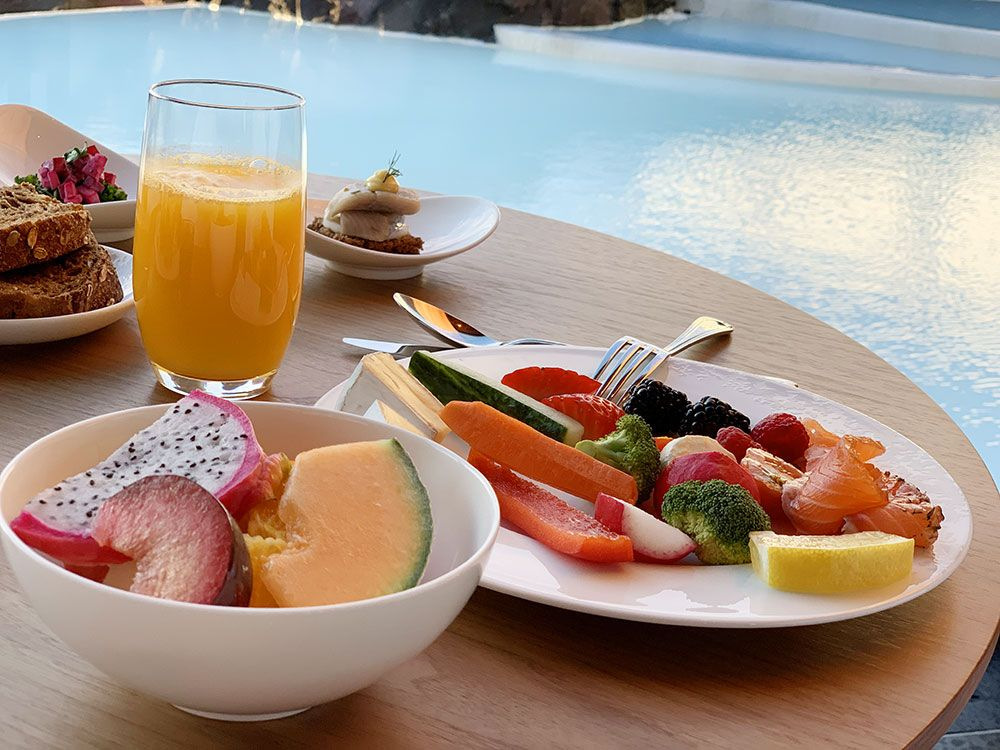 The Retreat Hotel - Blue Lagoon - Islandia - Desayuno