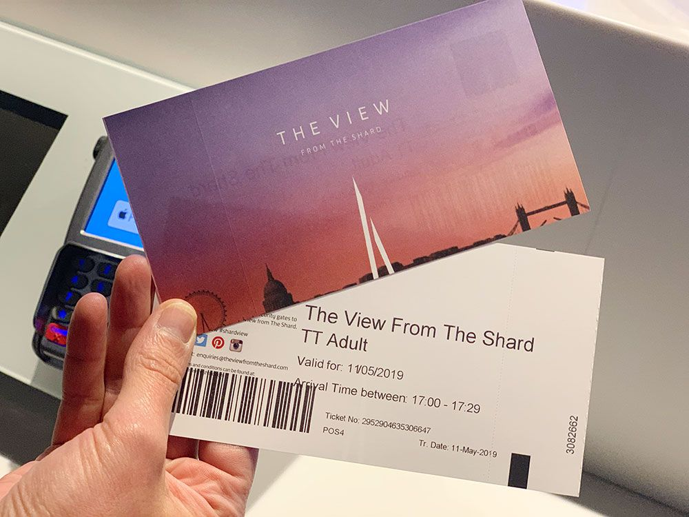The View from The Shard - Londres - Entradas