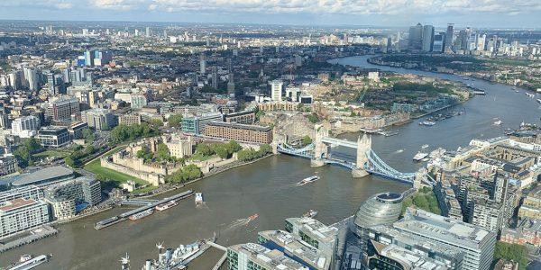 The View from The Shard, un brindis en el cielo de Londres