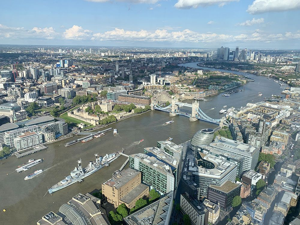 The View from The Shard - Londres - Vistas
