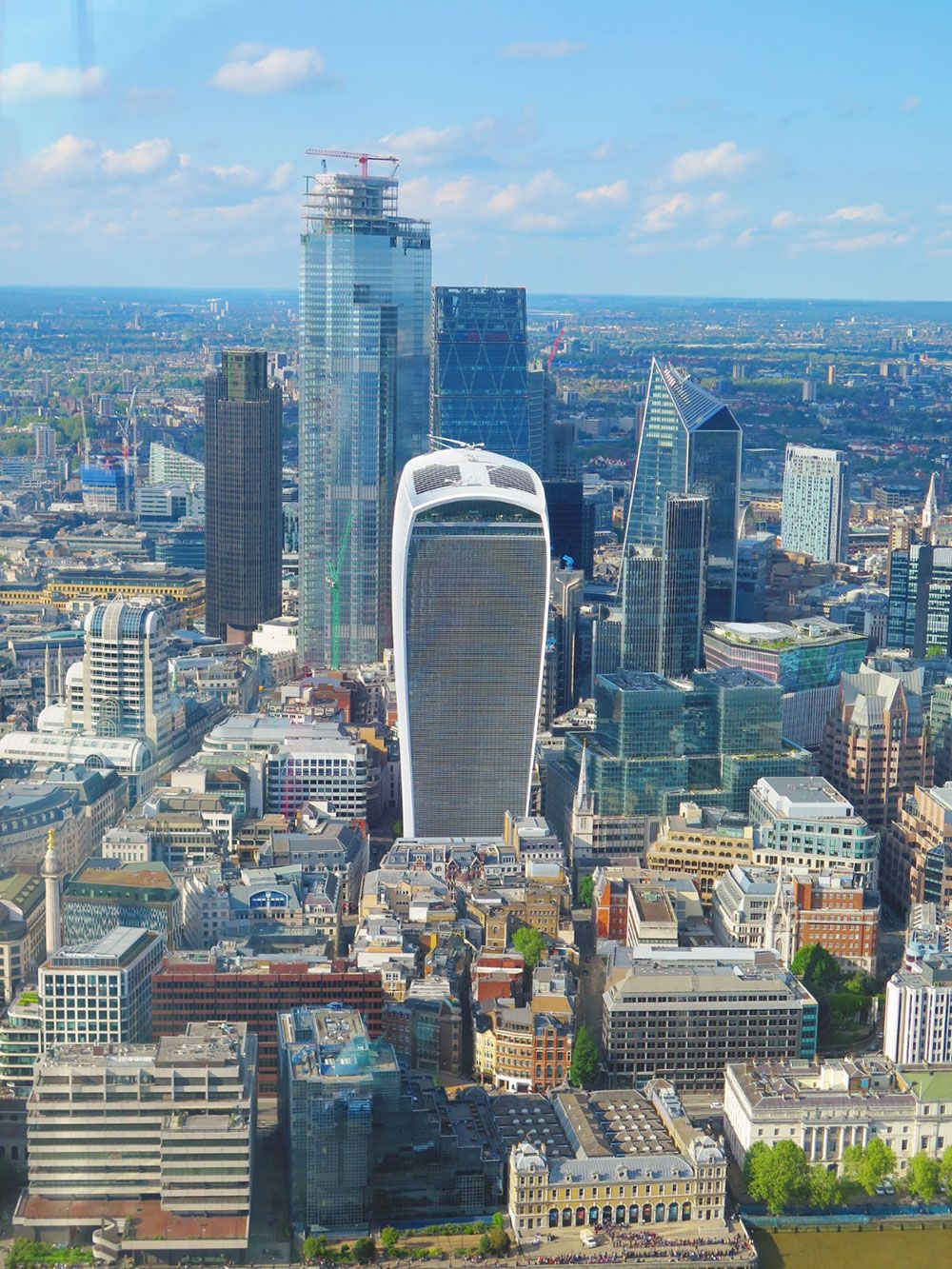 The View from The Shard - Walkie-Talkie