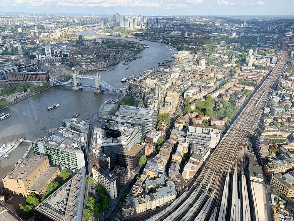 The View from The Shard - Tower Bridge