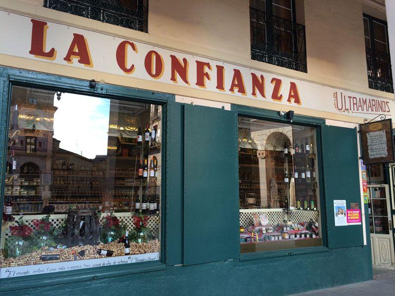 Qué ver en Huesca - Tienda de ultramarinos La Confianza