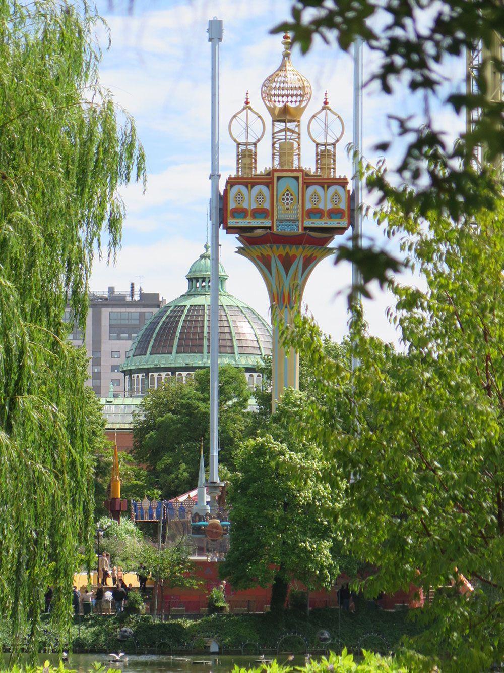 Parque de Atracciones Tivoli - Copenhague - Atracciones