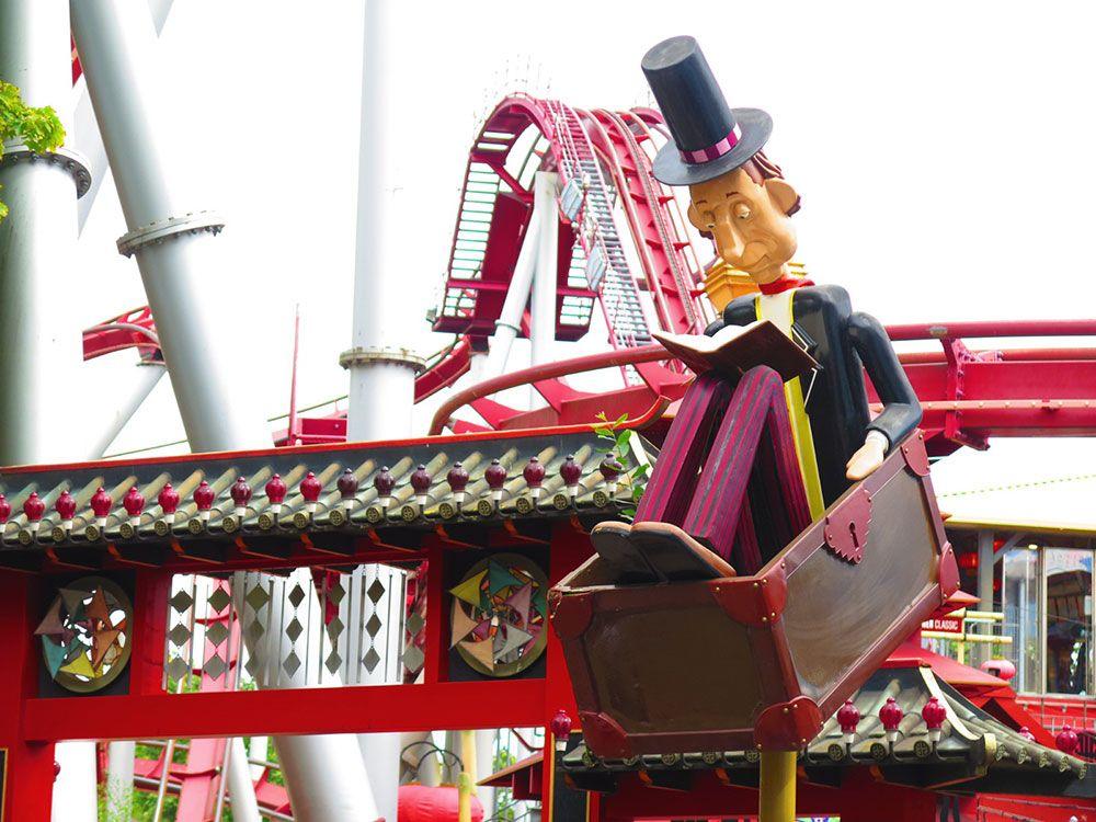 Parque de Atracciones Tivoli - Copenhague - Atracción