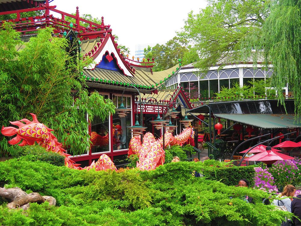 Parque de Atracciones Tivoli - Copenhague - Entorno
