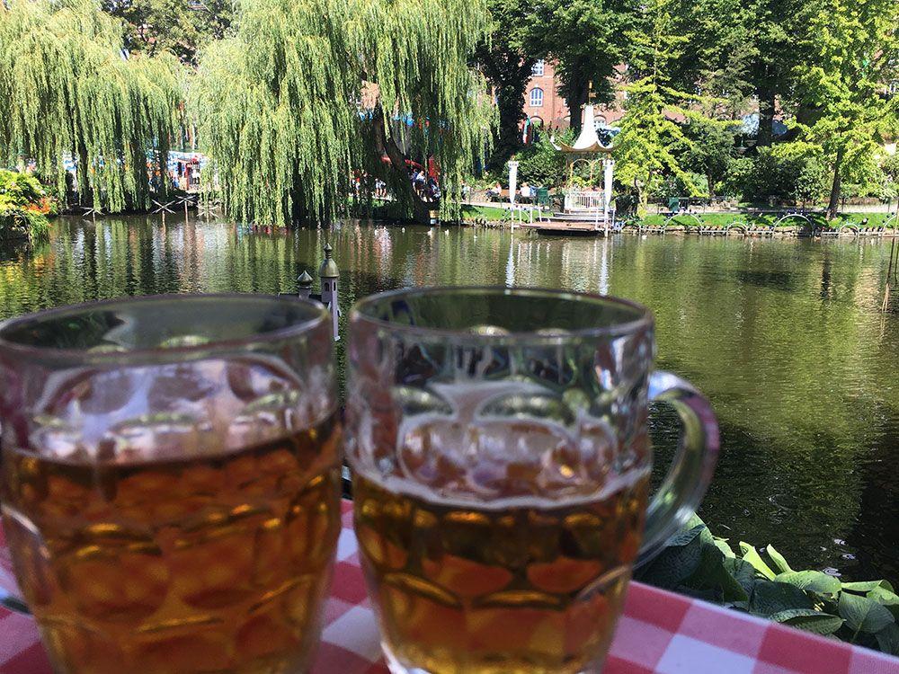 Parque de Atracciones Tivoli - Copenhague - Cervecitas