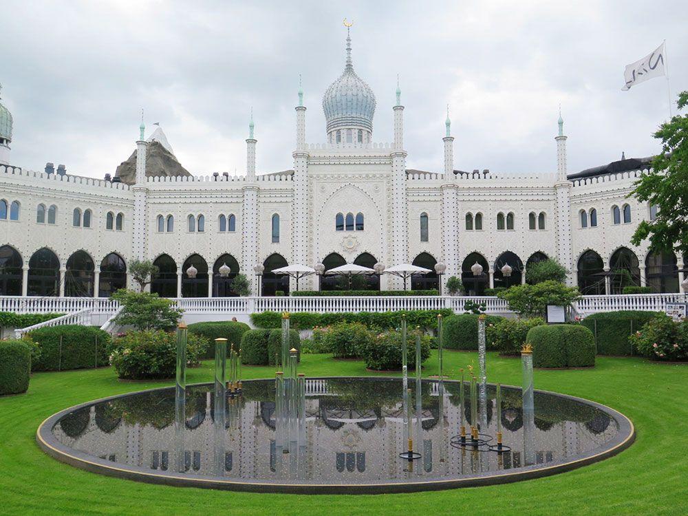 Parque de Atracciones Tivoli - Copenhague - Edificio
