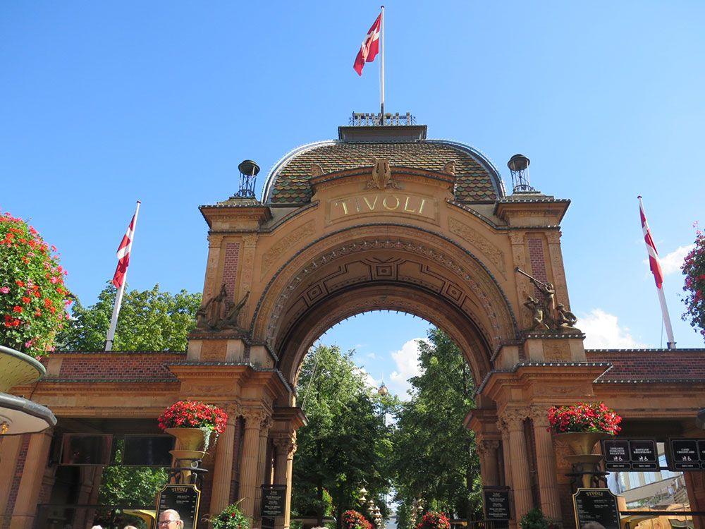 Parque de Atracciones Tivoli - Copenhague - Entrada