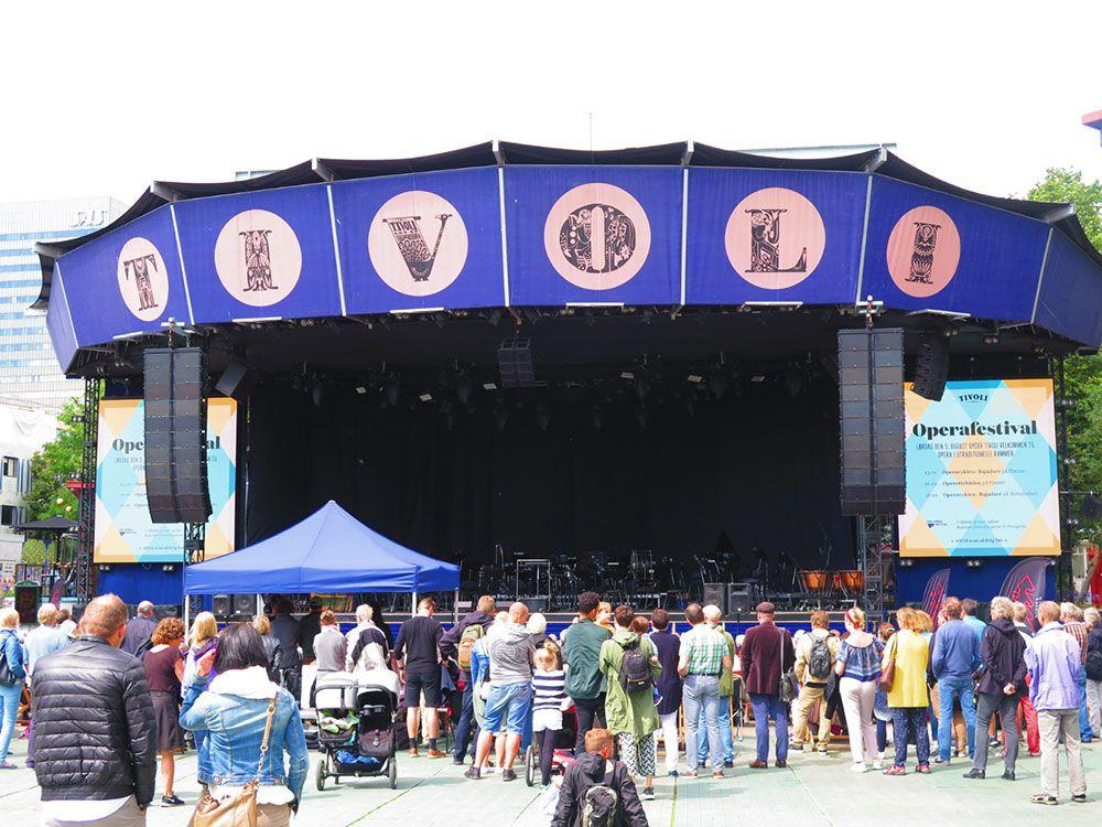Parque de Atracciones Tivoli - Copenhague - Escenario