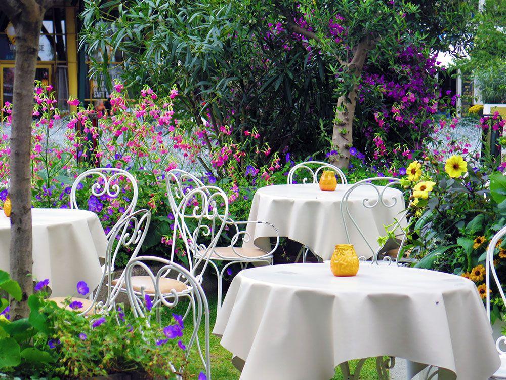 Parque de Atracciones Tivoli - Copenhague - Terraza