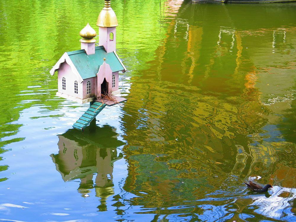 Parque de Atracciones Tivoli - Copenhague - Caseta para patos