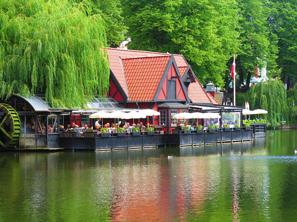Parque de Atracciones Tivoli - Copenhague - Restaurante