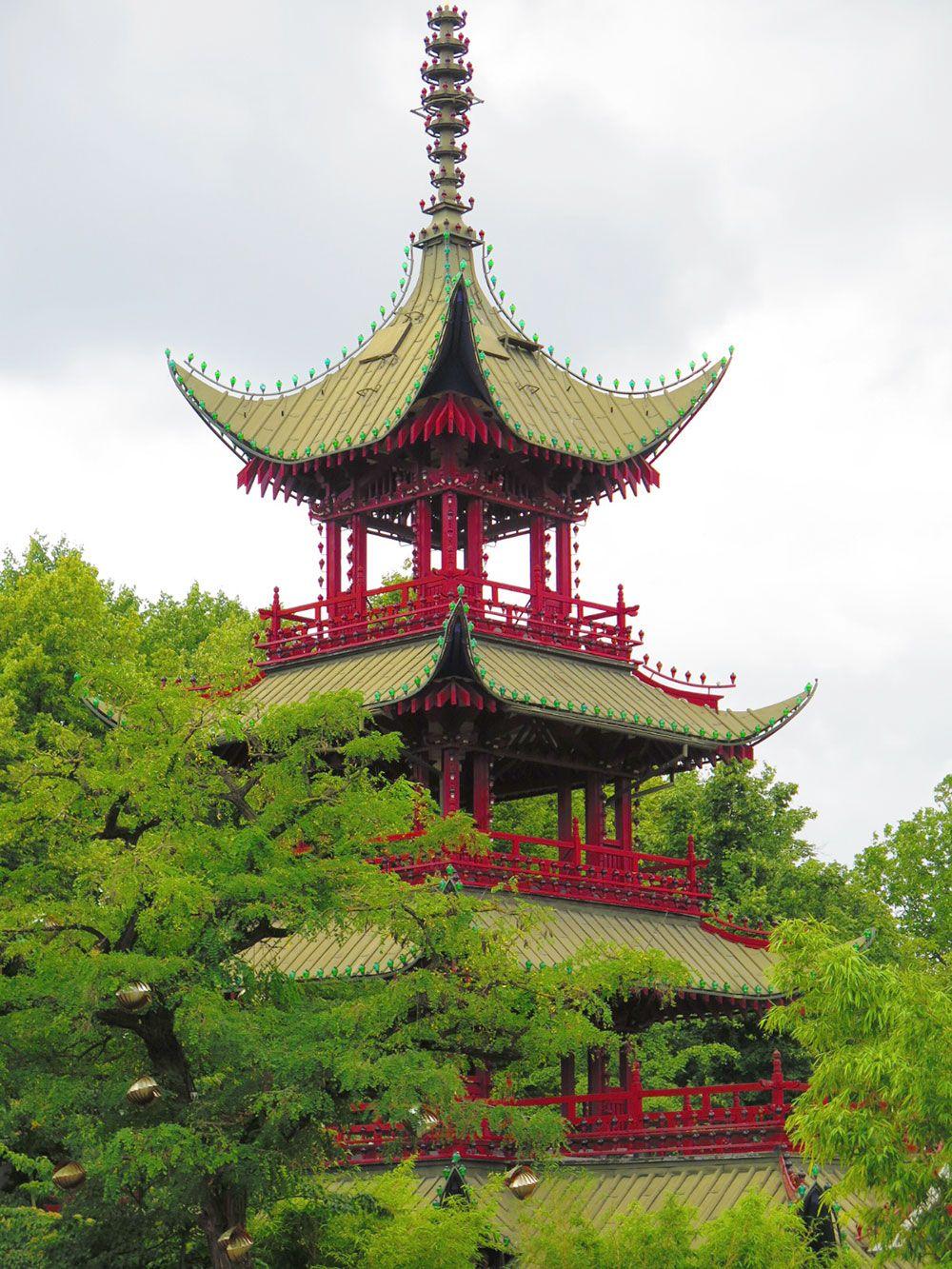 Parque de Atracciones Tivoli - Copenhague - Pagoda