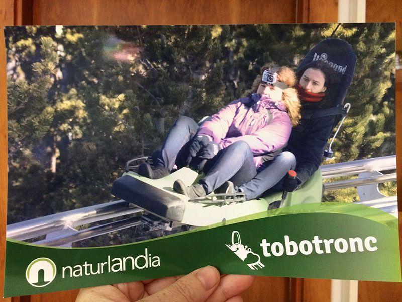 Tobotronc Andorra - La gran escapada en plena acción