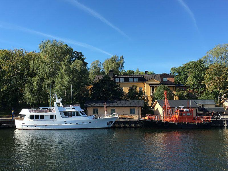 Tour en barco por el Archipiélago de Estocolmo - Barquitos