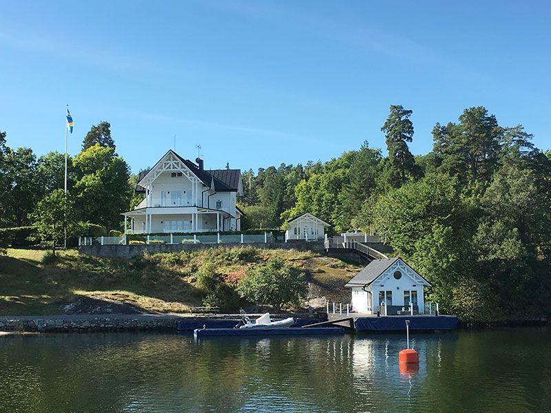 tour en barco por el archipilago de estocolmo casas de vacaciones