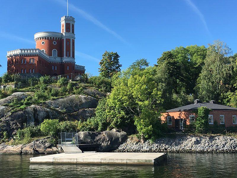 Tour en barco por el Archipiélago de Estocolmo - Ciudadela de Kastellholmen