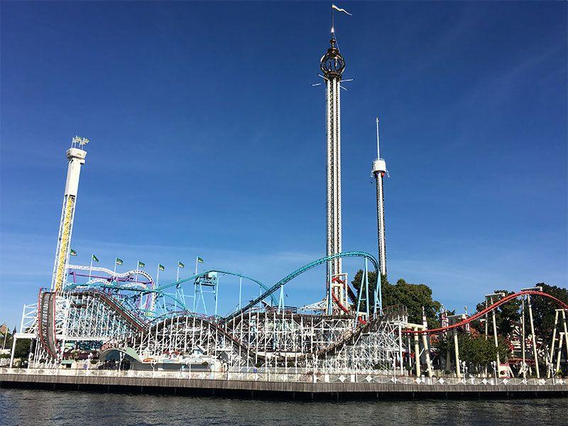 Tour en barco por el Archipiélago de Estocolmo - Parque de atracciones Gröna Lund