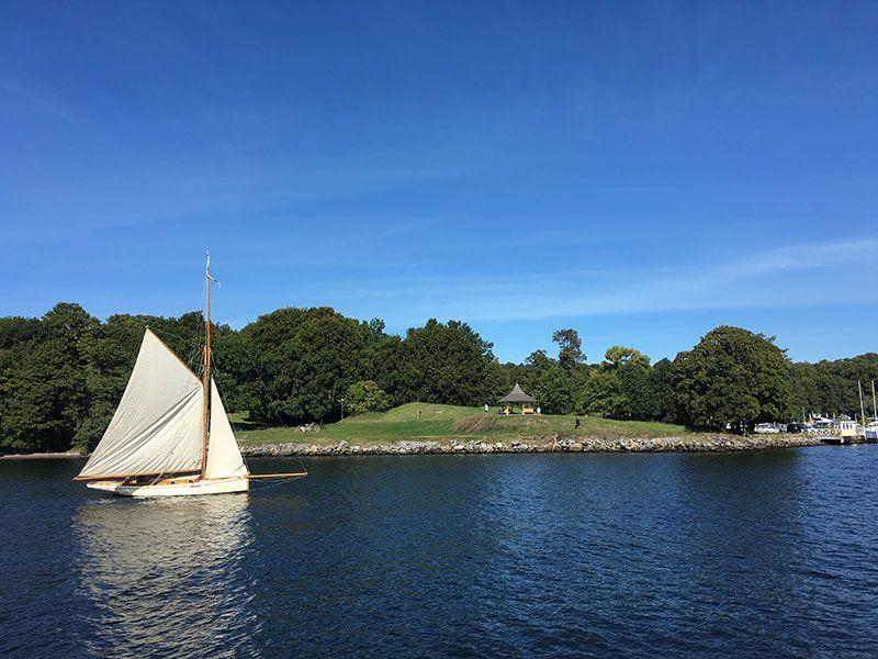 Tour en barco por el Archipiélago de Estocolmo - Velerito blanco
