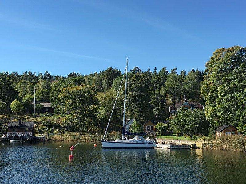 Tour en barco por el Archipiélago de Estocolmo - Velero