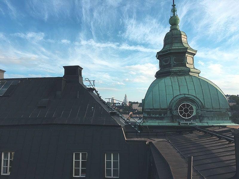 Tour por los tejados de Estocolmo - Cúpula