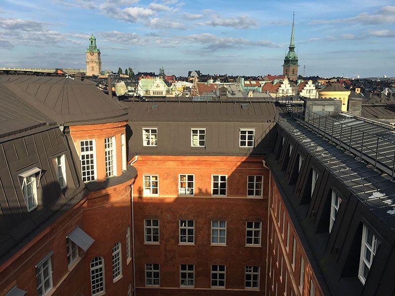 Tour por los tejados de Estocolmo - Edificio