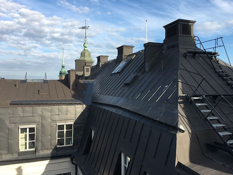 Tour por los tejados de Estocolmo - Escaleras