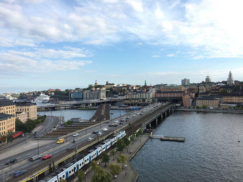 Tour por los tejados de Estocolmo - Slussen