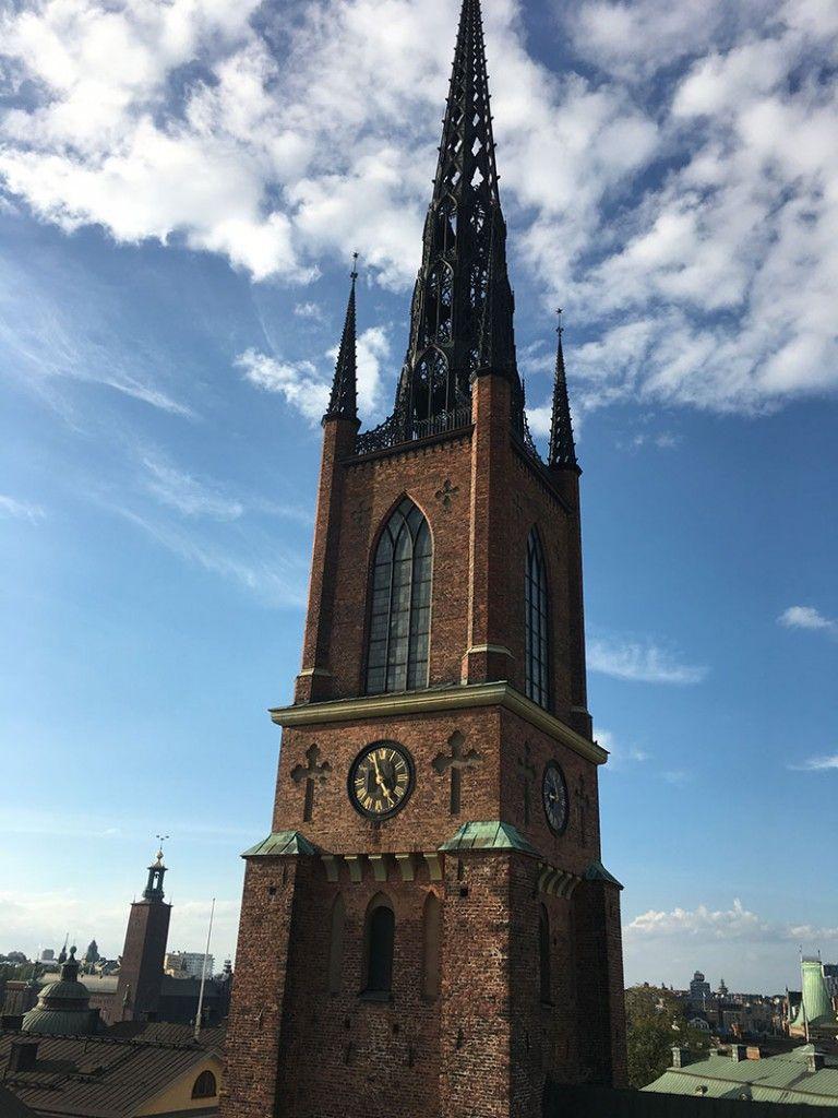 Tour por los tejados de Estocolmo - Iglesia de Riddarholmen