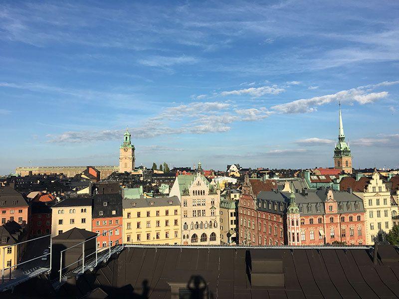 Tour por los tejados de Estocolmo - Edificios de Estocolmo