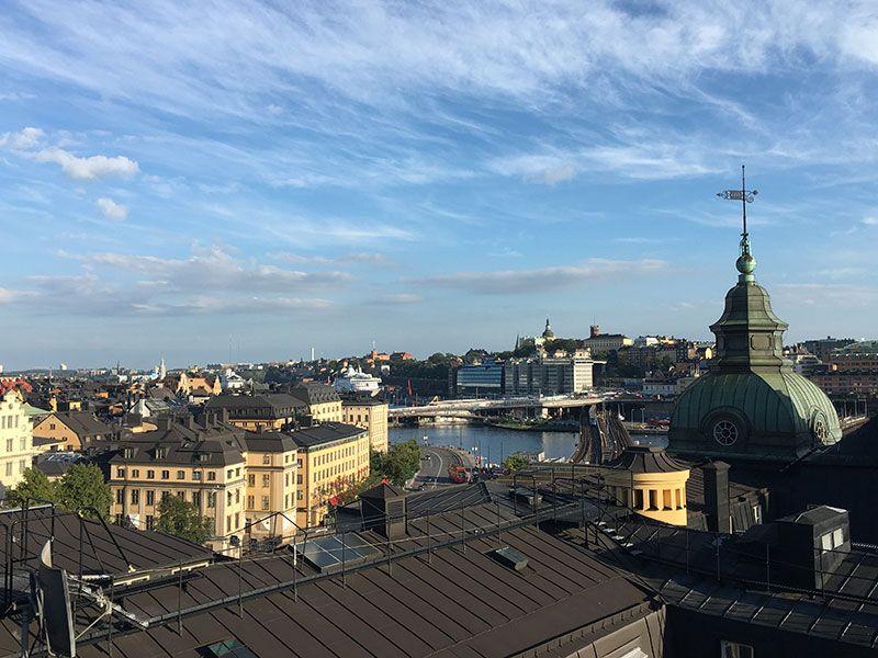 Tour por los tejados de Estocolmo - Vistas de la ciudad