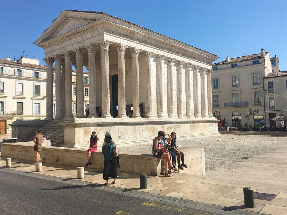 Qué ver en Nîmes - Maison Carrée