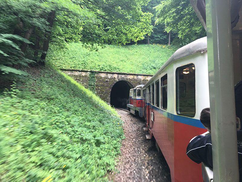 Tren de los Niños - Budapest - Túnel