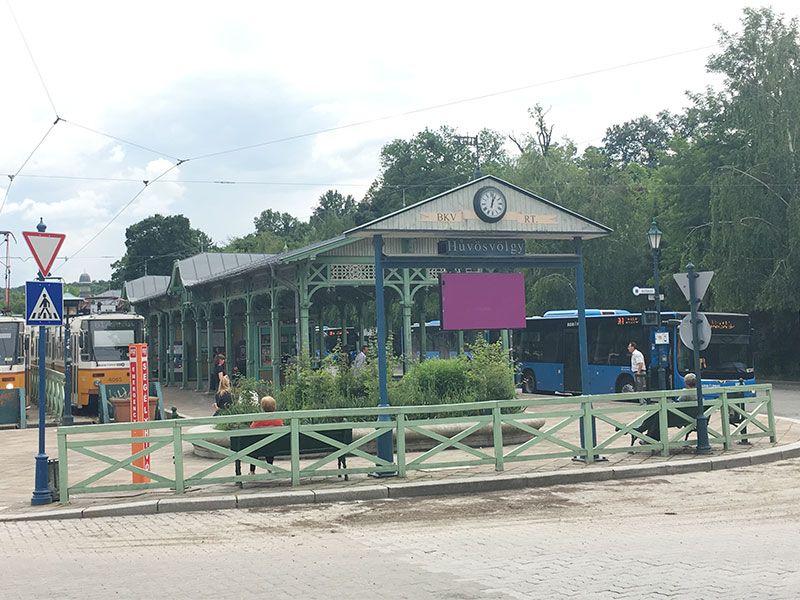 Tren de los Niños - Budapest - Estación Hűvösvölgy