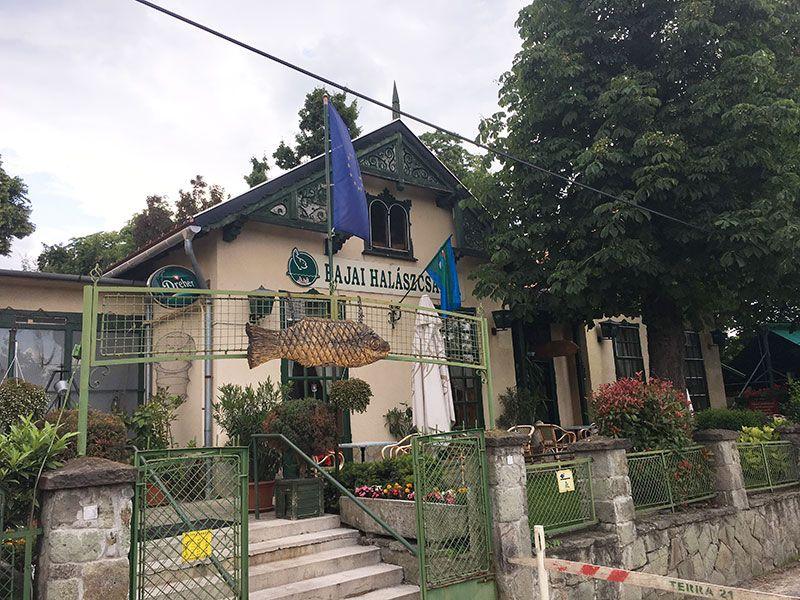 Tren de los Niños - Budapest - Restaurante Bajai Halászcsárda