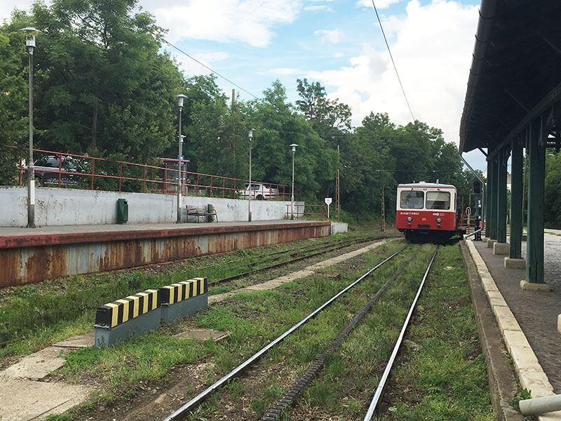 Tren de los Niños - Budapest - Tren cremallera