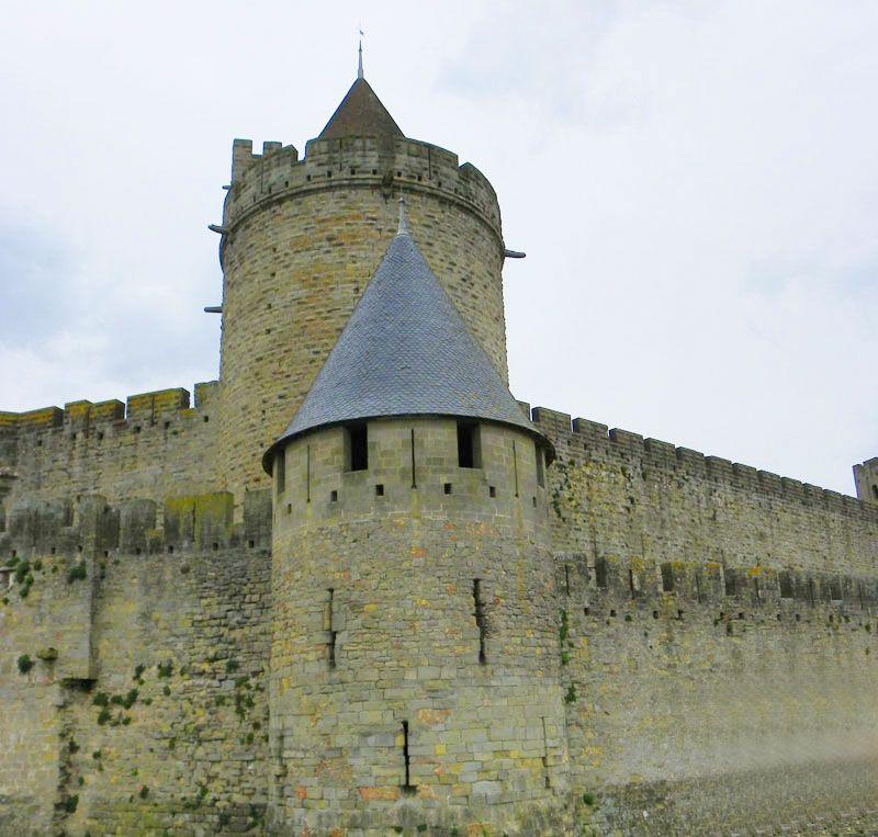 Escapadas en tren Barcelona Sur de Francia - Carcassonne - Castillo