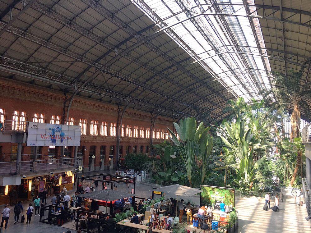 Tren Madrid Barcelona - Atocha Renfe