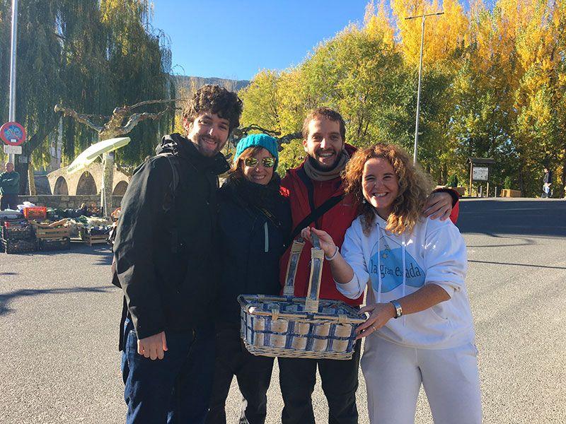 V #TuitQuedadaMicologica - Navaluenga - Ávila - Eli con Dani, Carlos y Sara