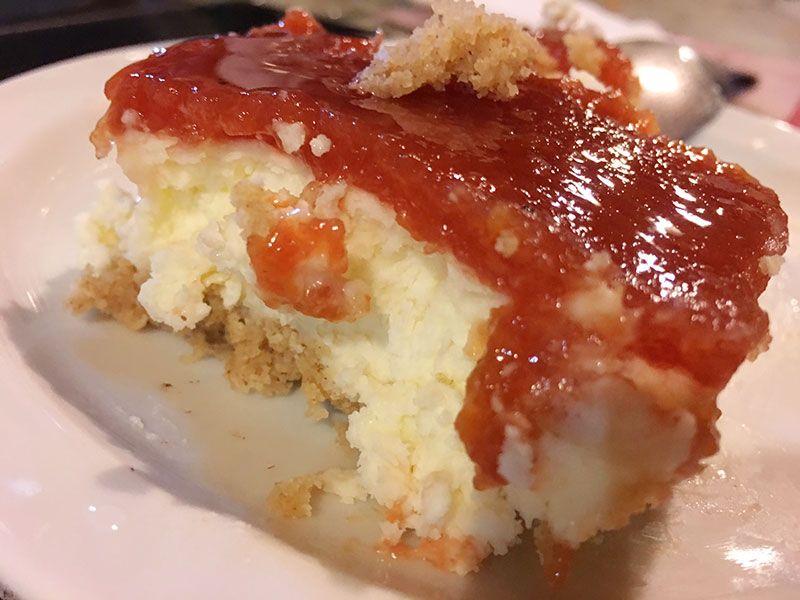 V #TuitQuedadaMicologica - Navaluenga - Ávila - Ración de tarta de queso