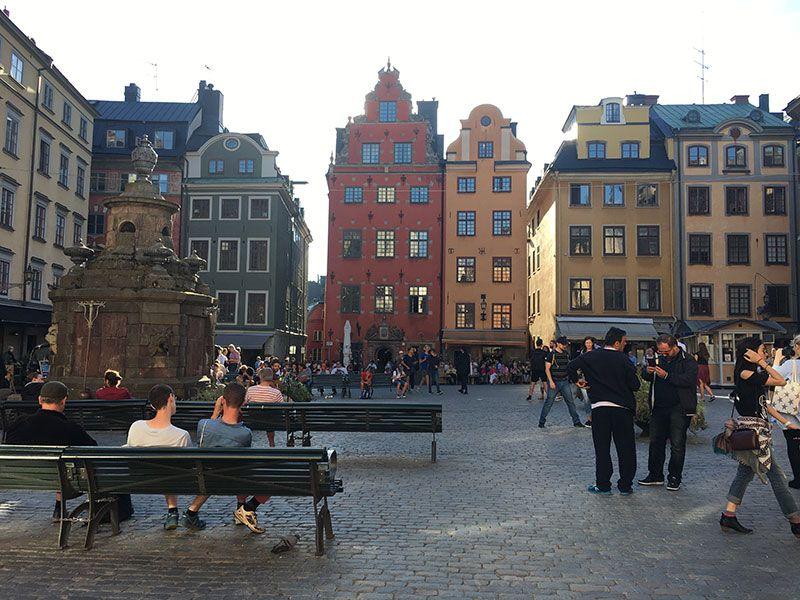Un paseo por Gamla Stan - Estocolmo - Plaza Stortoget
