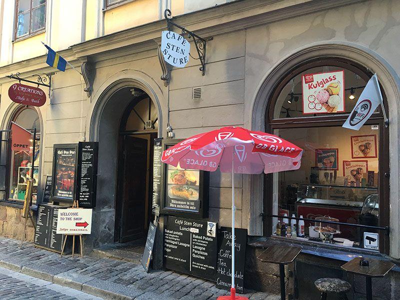 Un paseo por Gamla Stan - Estocolmo - Café Sten