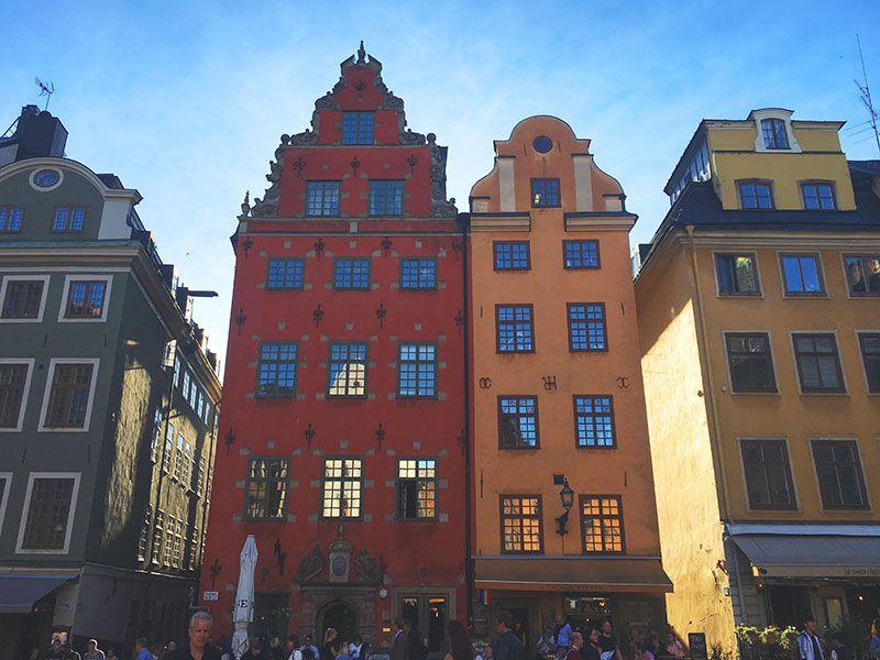 Un paseo por Gamla Stan - Estocolmo - Edificios Plaza Stortoget