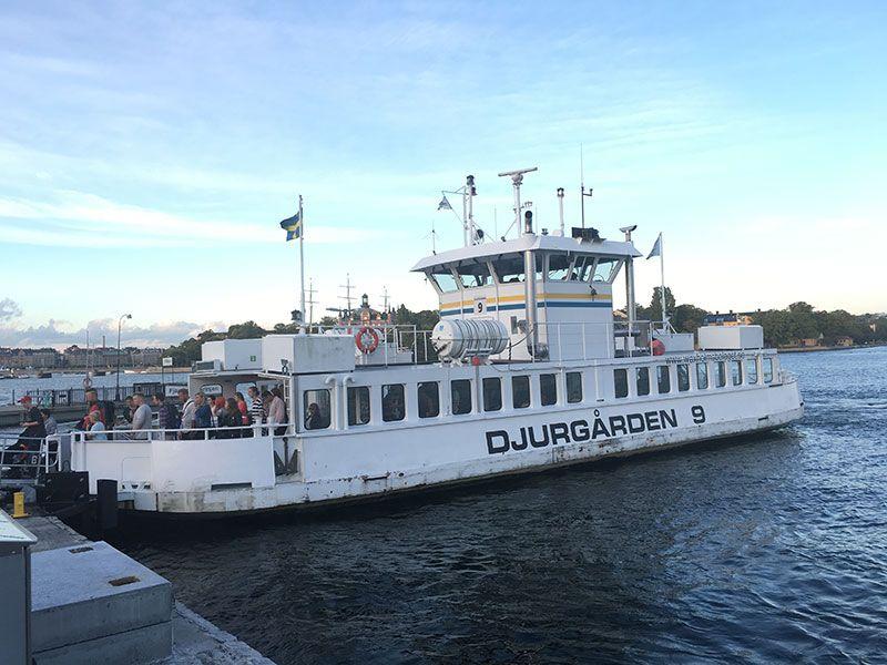 Un paseo por Gamla Stan - Estocolmo - Ferry Djurgården